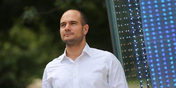 Romain Lacombe, cofondateur de Plume labs.