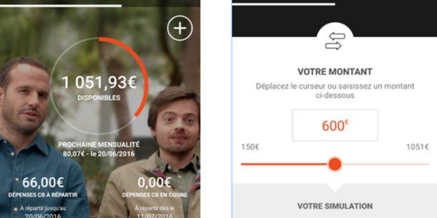 Sofinco a lancé en septembre une application qui permet de consulter et gérer son compte depuis son smartphone, suspendre des prélèvements, effectuer un virement, des simulations, etc.
