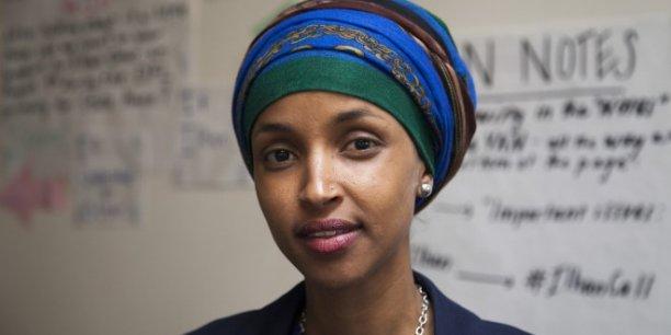 Ilhan Omar, 34 ans, aura déjà passé 17 jours à la Chambre des représentants de l'Etat du Minnesota, quand Donald Trump emménagera à la Maison Blanche