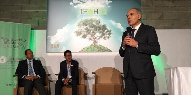 Le président de la COP22 s'est exprimé devant les jeunes startupers à la Tech 22.