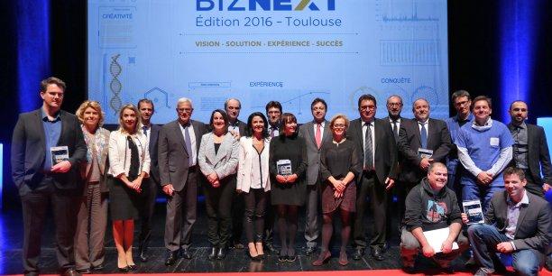 Les lauréats et parrains de l'édition 2016