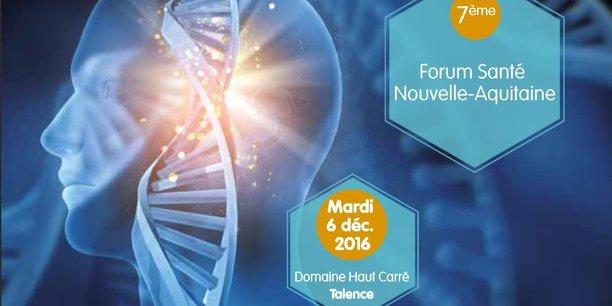Le 7e Forum Santé Nouvelle-Aquitaine aura lieu toute la journée du 6 décembre à Talence