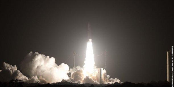 En 2017, le principal concurrent d'Arianespace reste l'américain SpaceX, qui est toujours le plus agressif commercialement.
