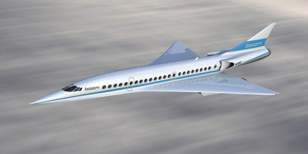 Baptisé Startbust Venture, ce fonds d'un montant de 200 millions de dollars, sera spécialisé dans l'investissement dans les startups des secteurs de l'aéronautique et du spatial. (Illustration : le projet d'avion supersonique dévoilé en novembre 2016 par la société Baby Boom une startup américaine comptant une trentaine de salariés.)