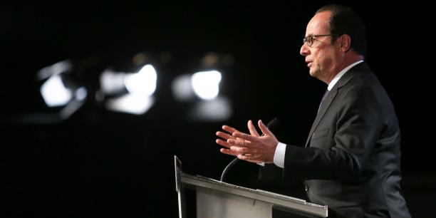 François Hollande à Carcassonne en mai 2015.