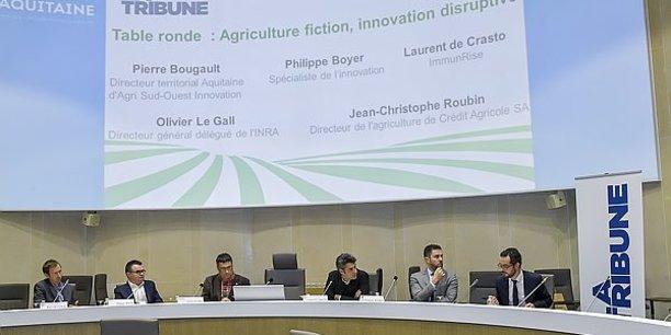 La Forum Agriculture Innovation a rassemblé jeudi 200 personnes à l'Hôtel de Région à Bordeaux.