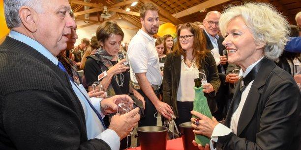 Les ambassadeurs de Savoie Mont Blanc se sont rencontrés à la Maison de la vigne et du vin à Apremont (73).