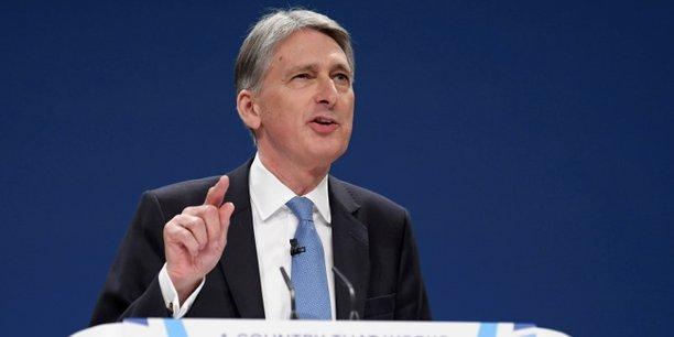 Philip Hammond, ministre chargé des Finances, a pris ses distances vis-à-vis des prévisions de l'OBR.
