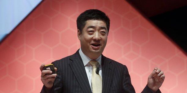 Ken Hu, un des directeurs généraux tournants de Huawei.