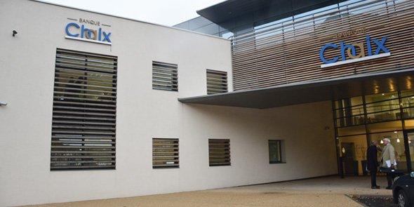 Le siège de la Banque Chaix à Avignon (84)