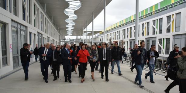Le campus Mirail de l'université Jean-Jaurès a été inauguré le 24 novembre.