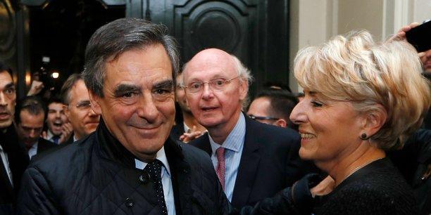 Dans une élection, il y a toujours une surprise !, a glissé Patrick Stefanini (au centre), directeur de campagne de François Fillon, à un journaliste de l'AFP en juillet dernier.