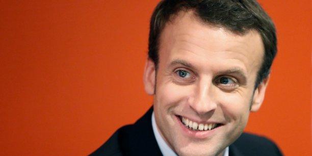 Macron et son sourire carnassier