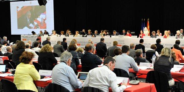 Le débat d'orientations budgétaires 2017 s'est ouvert le 28 novembre au Parc des Expositions de Montpellier