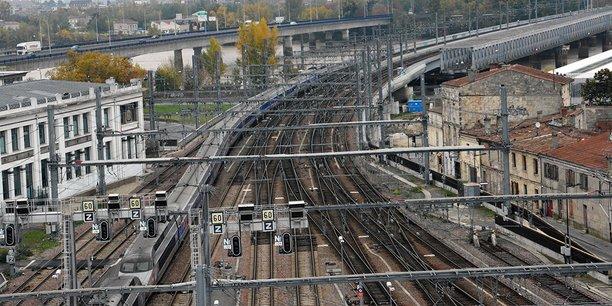 La gare Saint-Jean à Bordeaux
