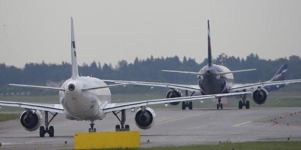 Le pilote chinois était furieux de voir un avion couper la file d'attente alors que son avion était déjà en retard.