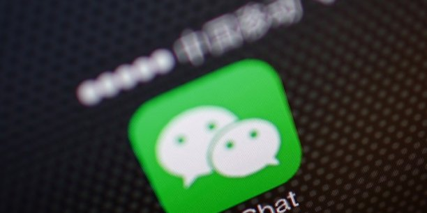 L'application WeChat compte plus de 800 millions d'usagers actifs.