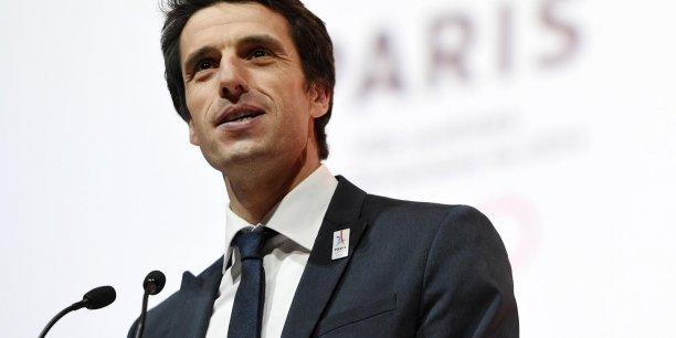 A partir de vendredi, le comité d'organisation de Paris 2024 coprésidé par Tony Estanguet peut lancer sa campagne de promotion à l'international.