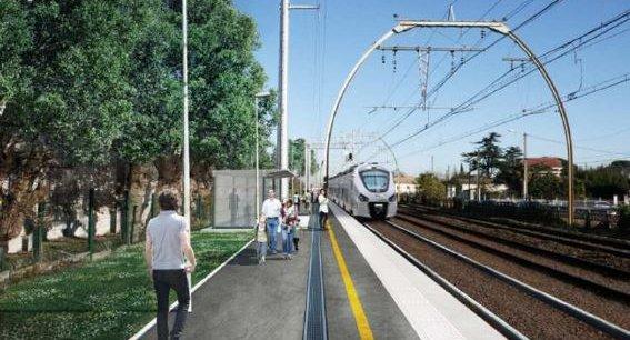 1,5 km de rails ont été reconstruits sur la commune de Pessac, reliant la gare à la ligne ferroviaire de ceinture.