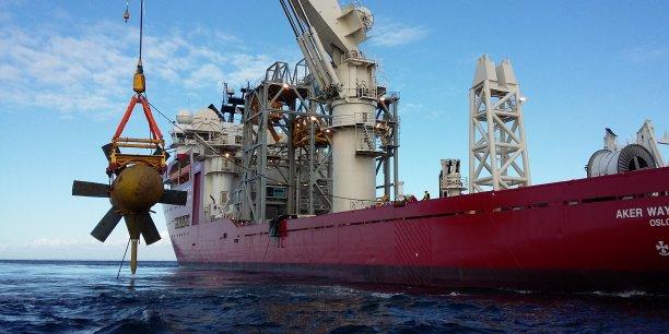 Mise en place sur l'île d'Ouessant du premier projet de smartgrids associé à  une production d¹énergie marine.