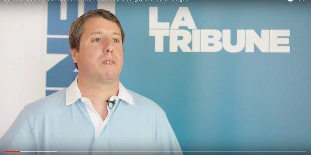 Mathieu George lors de Bordeaux Fintech en 2016