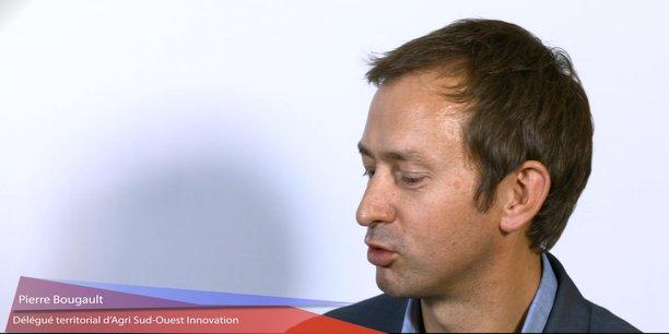 Pierre Bourgault, délégué territorial d'Agri Sud-Ouest Innovation