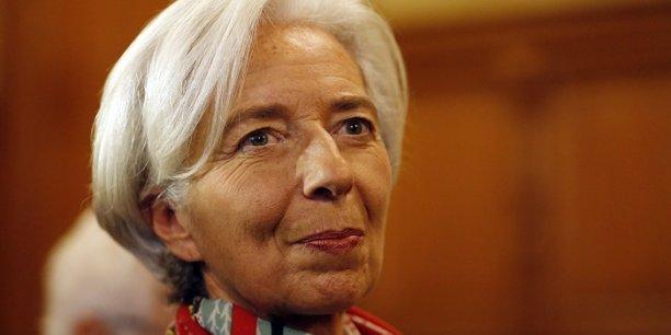 Christine Lagarde lors de l'ouverture de son procès à la Cour de Justice de la République le lundi 12 décembre.