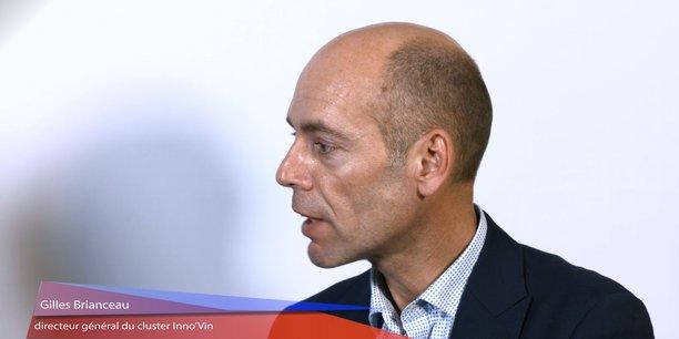 Gilles Brianceau est le directeur général du cluster Inno'Vin