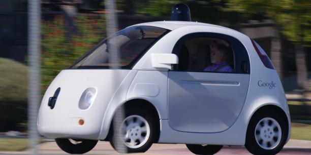 voiture autonome google car fait bande part. Black Bedroom Furniture Sets. Home Design Ideas