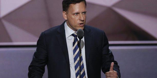 Peter Thiel a été le seul magnat de la Silicon Valley à soutenir Donald Trump dès la campagne présidentielle.