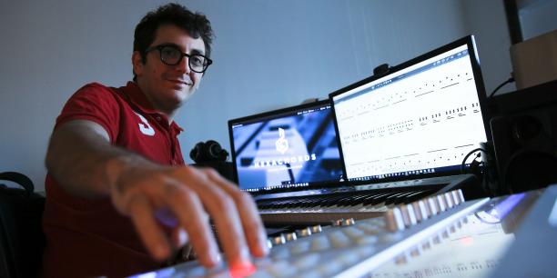 Richard Portelli, fondateur de la startup Hexachords.