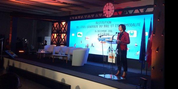 Carole Delga, le 14 décembre en réunion publique pour faire la restitution des États généraux du rail
