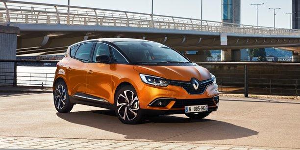 Le nouveau Scénic va permettre d'amplifier la dynamique de vente de Renault en 2017.