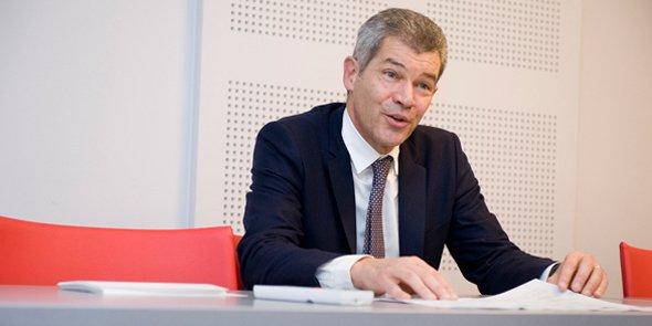Philippe Lamouroux, le président du Conseil régional des experts-comptables de la région de Montpellier.