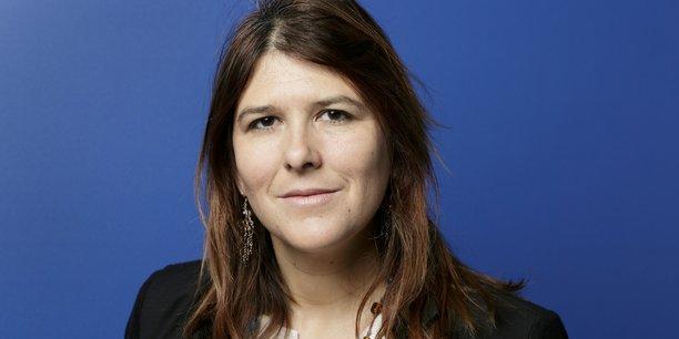 Charlotte Marchandise, 42 ans, candidate de laprimaire.org, lors du Forum Smart City Paris 2015.