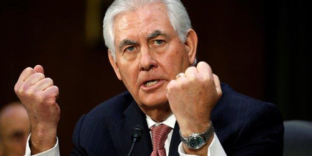 Rex Tillerson, ex-PDG d'ExxonMobil, a été choisi par Donald Trump pour occuper le poste de chef de la diplomatie américaine.