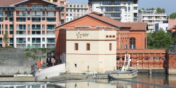 Le site EDF du Bazacle à Toulouse
