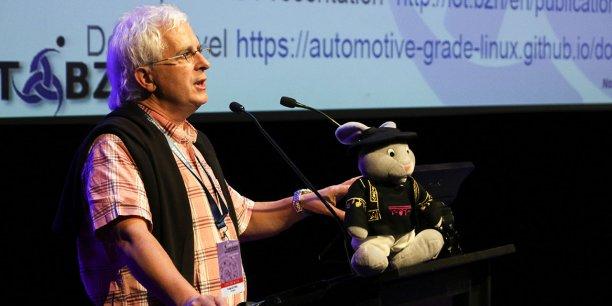 Fulup Le Foll, président et co-fondateur, avec Stéphane Desneux, d'IoT.BZH.