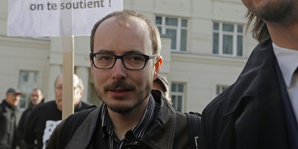 Le lanceur d'alerte Antoine Deltour, condamné par la justice luxembouregoise en première instance à de la prison avec sursis dans le cadre des LuxLeaks.