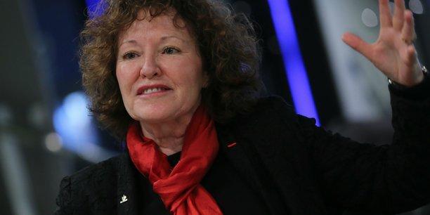 Marie-Anne Clair, directrice des systèmes orbitaux du Centre national d'études spatiales (Cnes).