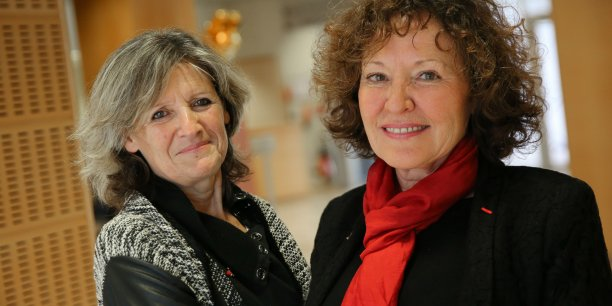 Geneviève Campan et Marie-Anne Clair.