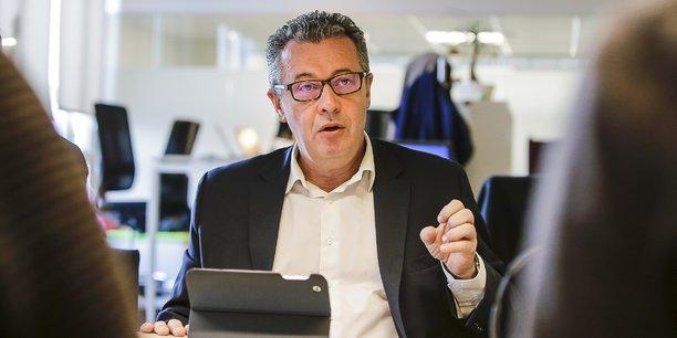 Vincent Bouyer, directeur d'Orange Sud-Ouest