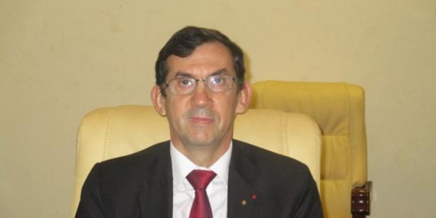 Gilles Thibault, l'ambassadeur de France au Cameroun
