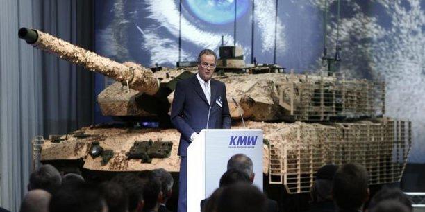 Steen Associates est une banque internationale très proche du PDG de  Krauss-Maffei Wegmann Frank Haun.