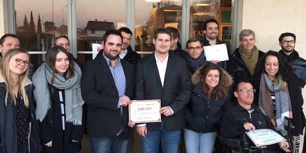 Les lauréats du 1er concours Etincelle lancé par Bordeaux Technowest à destination des étudiants