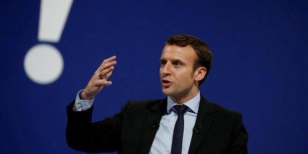 Le fondateur d'En Marche recueille désormais plus de 20% des intentions de vote.