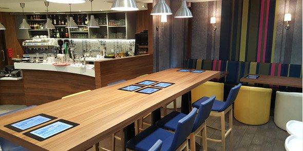 La technologie d'Awadac est expérimentée jusqu'à l'été au sein du restaurant Agora, à la gare St-Roch de Montpellier