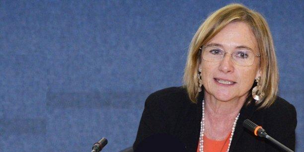 L'ambassadrice Delphine Borione, secrétaire générale adjointe de l'UpM chargée des affaires sociales et de la société civile.