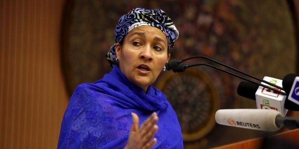 Amina J. Mohammed a pris ses fonctions de vice-secrétaire générale de l'Organisation des Nations Unies le 1er janvier 2017