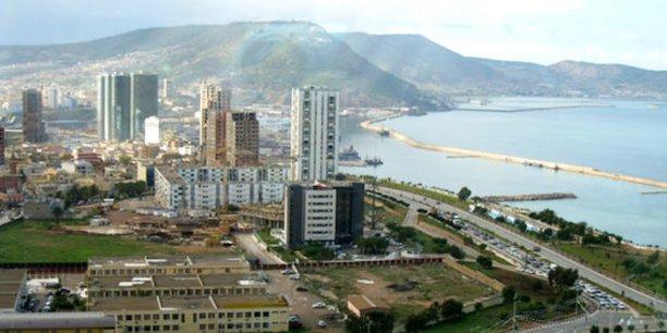 Une vue de la baie d'Oran, en novembre 2014.